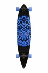 SCSK8 NATURAL BLANK & STAINED COMPLETE LONGBOARD SKATEBOARD REVIEW